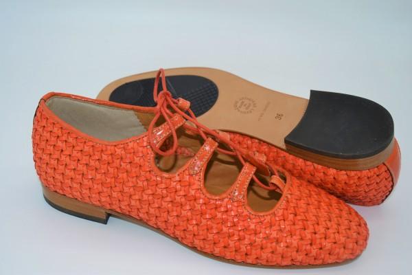 Damen Schuh Sommer orange