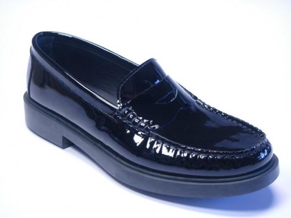 Schuhe Lack