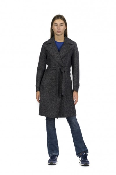 Mantel Tweed + Neopren